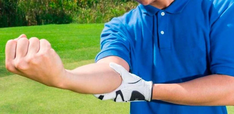 Epicondilite medial ou cotovelo do golfista